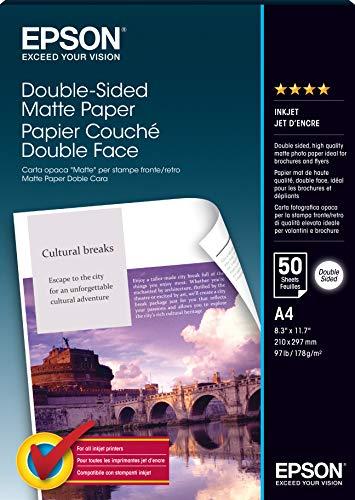 Epson S041569 Matte Paper Doubleside 50 A4 21 x 29,7 cm (A4) Carta fotografica