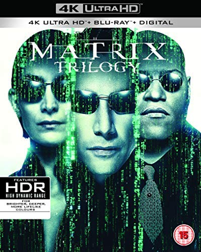 The Matrix Trilogy [3xBlu-Ray 4K]+[3xBlu-Ray]