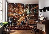 Komar - Vlies Fototapete FUSION - 368 x 248 cm - Tapete, Wand, Dekoration, Wandbelag, Wandbild, Wanddeko, Design, Lichtgeschwindigkeit - XXL4-037