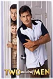 Two and a Half Men Plakat TV Poster E