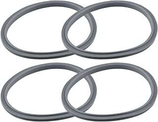 Nutribullet Set of 4 Gaskets with Lip, Fits Nutribullet Blenders