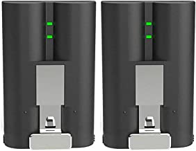 $59 » 2 Packs Rechargeable 3.65V Lithium-Ion Battery Compatible with Ring Video Doorbell 2, Ring Spotlight Cam and Ring Stick Up Cam
