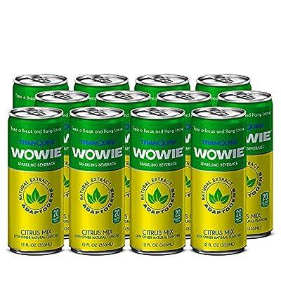Wowie | Hemp Infused Sparkling Beverage for Str...