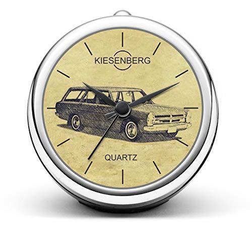 KIESENBERG Design Tischuhr Geschenke für Nissan Gloria A30 Kombi Fan Uhr T-5341