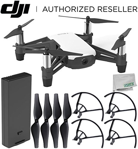 Ryze Tello Quadcopter Drone with HD Camera and VR - Powered...