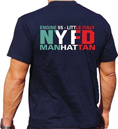 T-Shirt Engine 55 Little Italy - Manhattan - New Yorker Feuerwehr