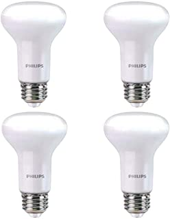 Philips 456995 45W Equivalent Soft White R20 Dimmable with Warm Glow Light Effect LED Light Bulb 4 Pack