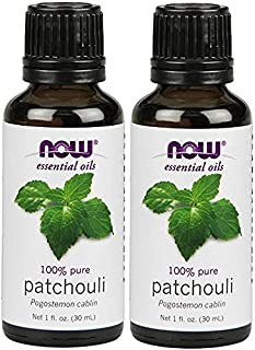 Now Solutions Patchouli Essential Oil, 1-Ounce (Pack of 2)