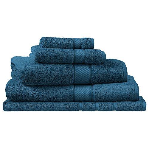 Royal Sheridan - Toallas de algodón Peinado Egipcio de Lujo, Kingfisher, Alfombra de baño