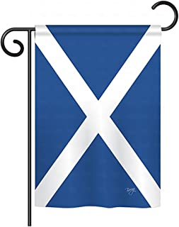 Breeze Decor G158076 St. Andrews Cross Flags of The World Nationality Impressions Decorative Vertical Garden Flag 13