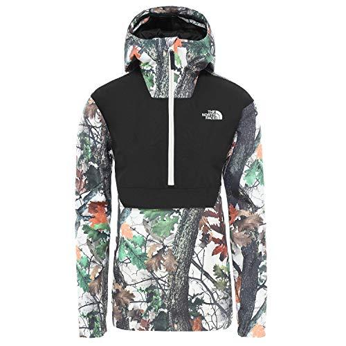 North Face Waterproof Fanorak Waterproof Jacket X Small Strider Print