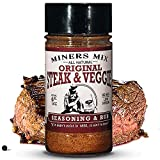 MINERS MIX Steak And Veggie All Purpose, 100% Natural Dry Rub Blend Perfect for all Steak Brisket...