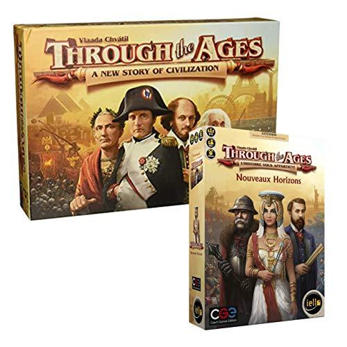CGE Through The Ages + Extensión Nuevo Horizonte – Versión francesa
