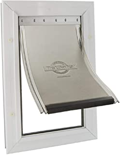 PetSafe, Staywell, Aluminium Pet Door, Large, Solid Design, Easy Install
