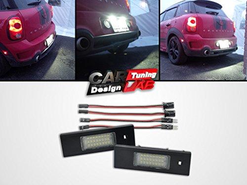 Éclairage de plaque d'immatriculation LED EMARK compatible avec Clubman R55 Countryman Paceman
