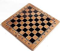 国际象棋套装 娱乐游戏 乐趣 桌游 教育 脑训练 智力开发 收纳 方便 学生 成人 チェス盤折りたたみ式木製インターナショナル ピースセットボードゲーム面白いゲーム チェスの駒コレクションポータブルボード旅行ゲームチェスセット 方便收纳 父亲节礼物 人气 礼物 (Size : Small)