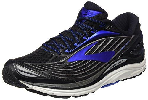 Brooks Transcend 4, Zapatos para Correr para Hombre, Negro (Black/Anthracite/Silver), 45.5 EU