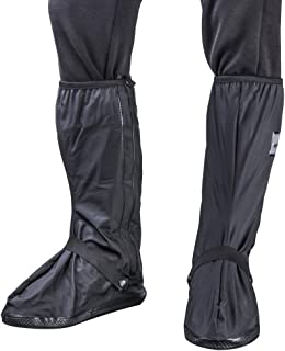 BS Waterproof Rain Boots Cover Overshoes Slip-Resistant Both for Men and Women
