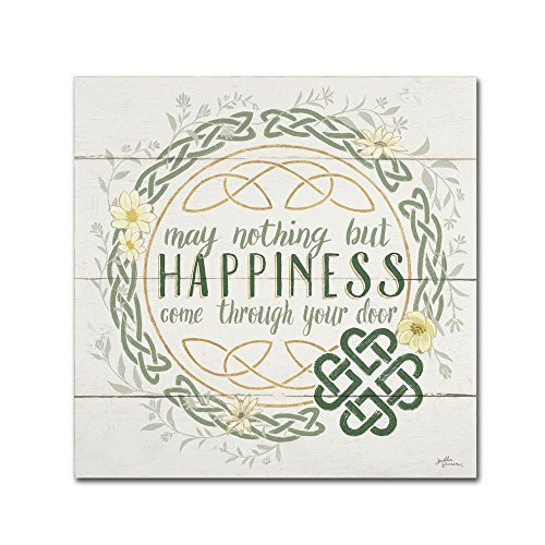 Irish Blessing I by Janelle Penner, 18x18-Inch Canvas Wall Art