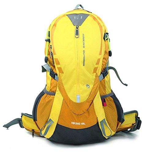 Tear sac d'alpinisme sports de plein air sac 40L forfait camping en plein air étanche à l'eau de randonnée en nylon