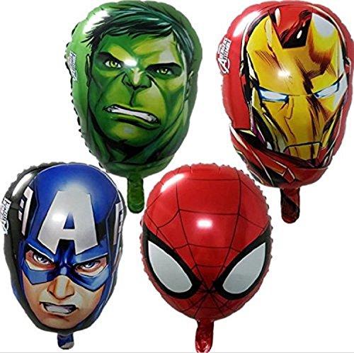 Kolag Marvel Avengers Party Balloon Decorations 4-Piece Set