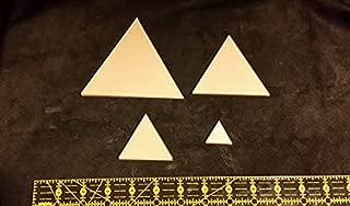 LaserThing Itajime Shibori Triangle Templates 4