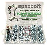 150pc Specbolt Kawasaki KXF 250450Four Stroke perno Kit para mantenimiento y restauración de MX Dirtbike Crossbike OEM Spec cierre KX250F KX450F kxf250kxF450