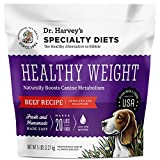 Dr. Harvey's Specialty Diet Healthy Weight Beef Recipe, Human Grade Dehydrated Dog Food with Beef (5 Pounds)
