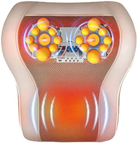 Almohada de masajeador de cuello y trasero, 3 en 1 Calor amasado de la vibración para el hombro Aliviar el dolor de la ayuda para el hogar y la oficina exquisita técnica