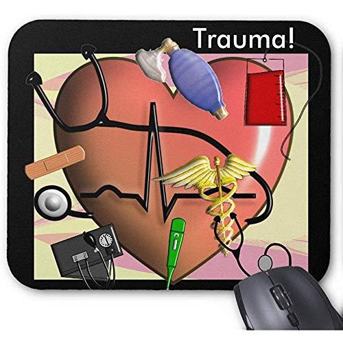 Trauma-Krankenschwester-Kunst-Geschenke Mausunterlage