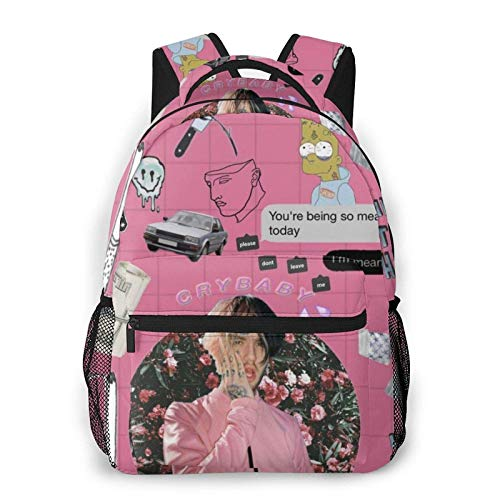 Hdadwy Lil Rap Pe-Ep Casual Laptop Backpack College School Bag for Women Men