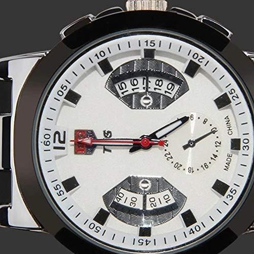 FENKOO TVG Armbanduhren TVG Uhr Sportrund Herrenuhr Herrenarmbanduhr (Color : 1)