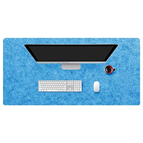 NUEVA alfombrilla de escritorio multifuncional de fieltro, alfombrilla de ratón grande para juegos, alfombrilla de escritura antideslizante, alfombrilla protectora de escritorio ultragruesa de 5 mm p