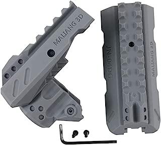 PeleusTech® 3D Printed Barrel Kit for Nerf Ranger / Nerf Zombie Strike Hammershot Blaster - Grey S