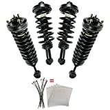 Air Suspension to Coil Spring Struts Conversion Kit 4 Pc for 03-06 Navigator