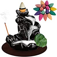 DK177 Waterfall Incense Holder Backflow Cone
