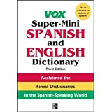 Vox Super-Mini Spanish and English Dictionary, 3rd Edition (Vox Dictionaries) (English Edition)