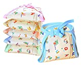 Easy tie knot closure nappy can be adjusted to baby as desired. Premium quality,Extra Soft, Padded,Comfortable ,Anti Allergic And Skin Friendly. Hosiery cotton cloth double layer padded soft diapers especially designed for newborn to keep baby comfor...