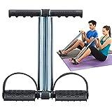 Covvy Corde élastique à double ressort pour exercice de pédale de pied, abdomen, jambe,...