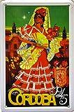 Magnet Blechschild Poster, mit Retro Vintage Design von
