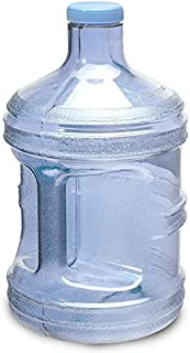 For Your Water 1 Gallon 3.7 Liter BPA Free Plastic Reusable Sport Water Bottle Container Jug with Handle and with 48MM Screw Cap 6.5