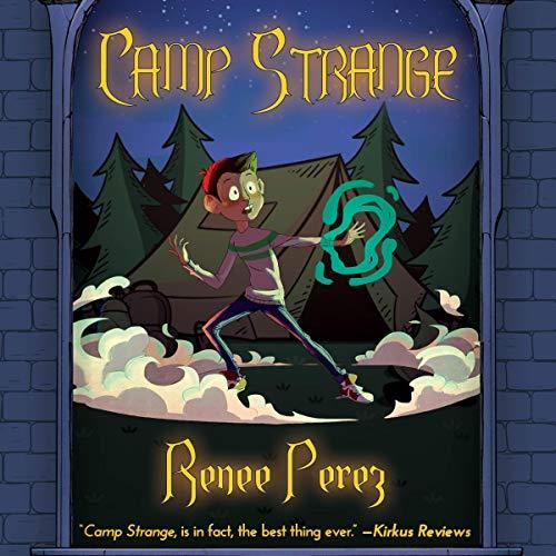 Camp Strange audiobook cover art