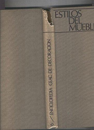 Enciclopedia Ceac de Decoracion volumen 06 Estilos del mueble