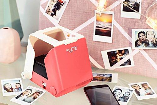 kiipix e72753 Impresora Fotográfica Color 1 PPM Rosa: Amazon.es ...