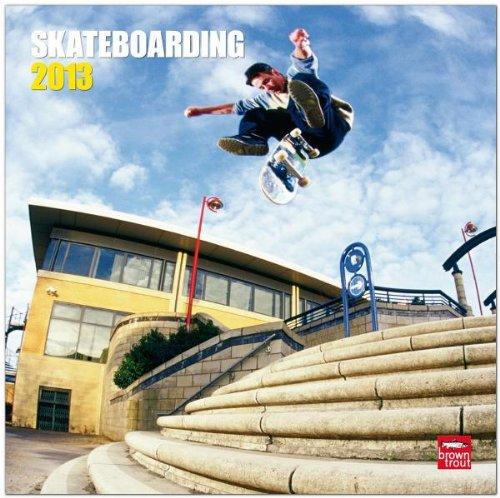 Skateboarding 2013 - Skateboarden - Original BrownTrout-Kalender