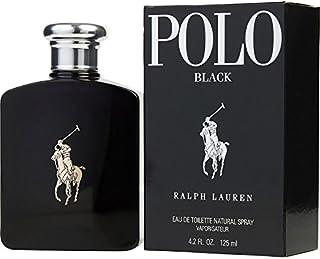 Ralph Lauren Polo Polo Black Eau De Toilette Spray 4.2 OZ. 125 ML.