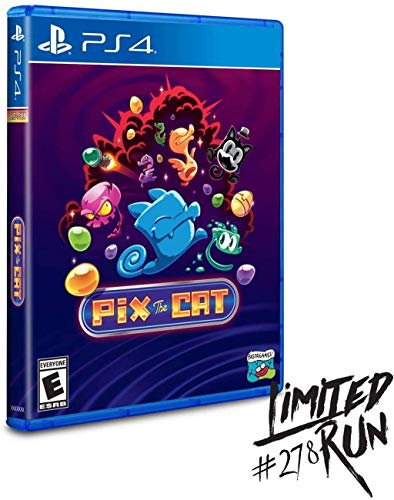 Pix The Cat - Limited Run - PS4