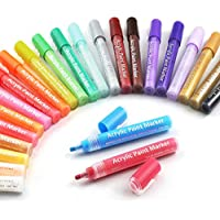 Set of 24 Ycsden Permanent Acrylic Paint Markers Pens