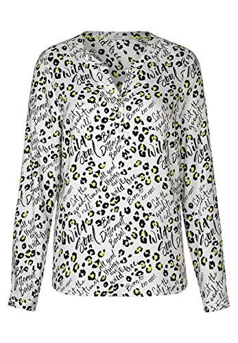 Cecil Damen 341718 Bluse, Mehrfarbig (Pure Off White 30125), X-Large (Herstellergröße:XL)