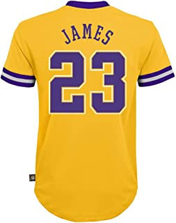 Outerstuff NBA Boys Youth 8-20 Short Sleeve Player Name & Number Performance Jersey